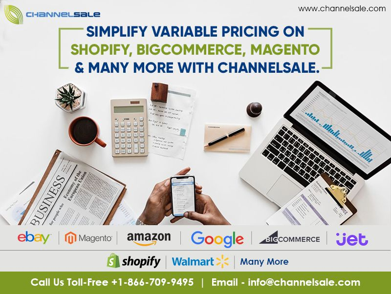 Channelsale Helps Setting Up Variable Pricing For The Marketplaces
