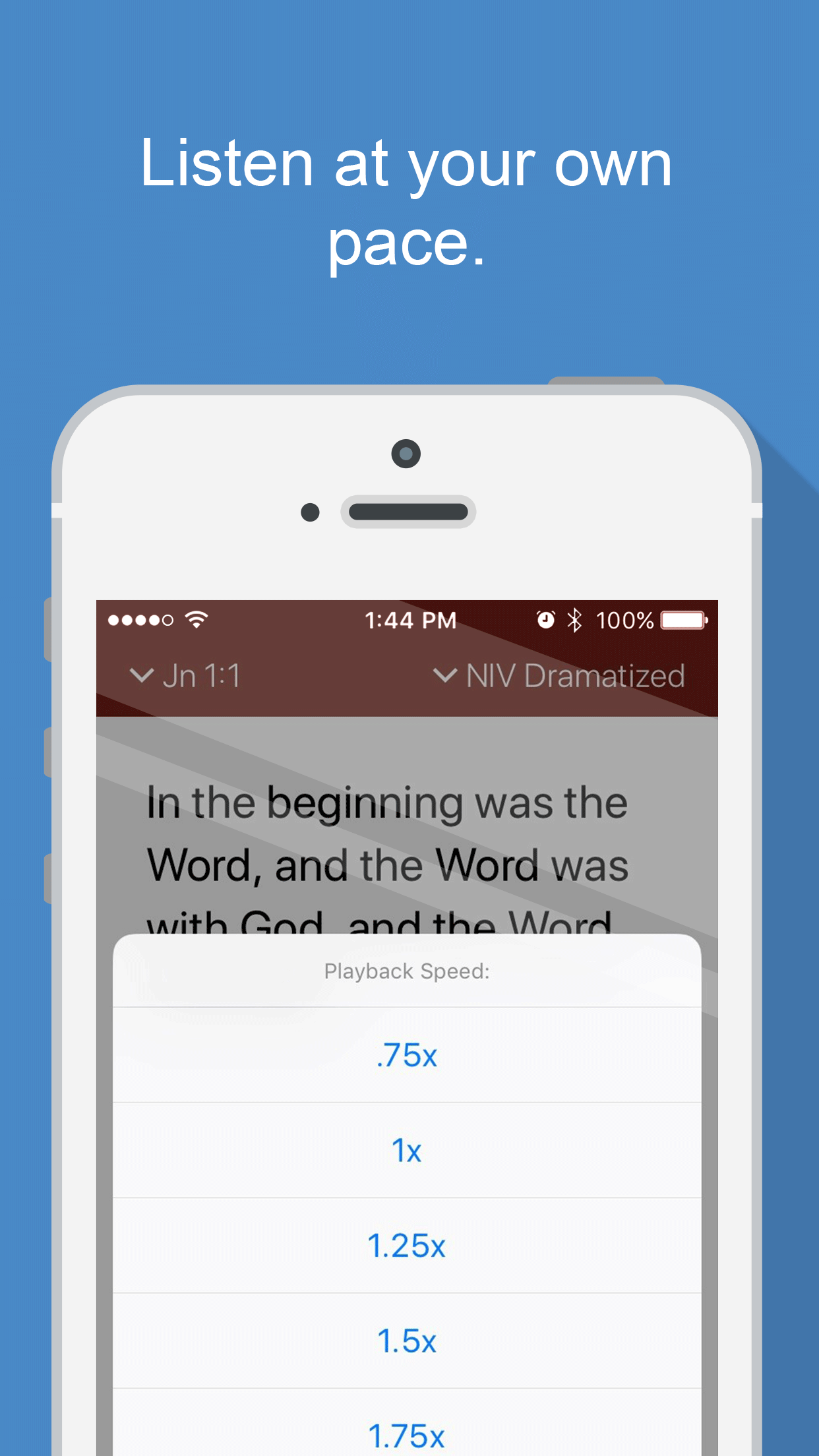 Download Bible Gateway's New Bible Audio App Audio bible