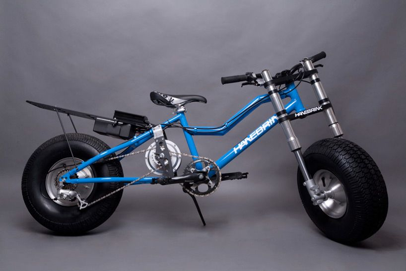 Hanebrink All Terrain Bike Designboom Bicycles Pinterest