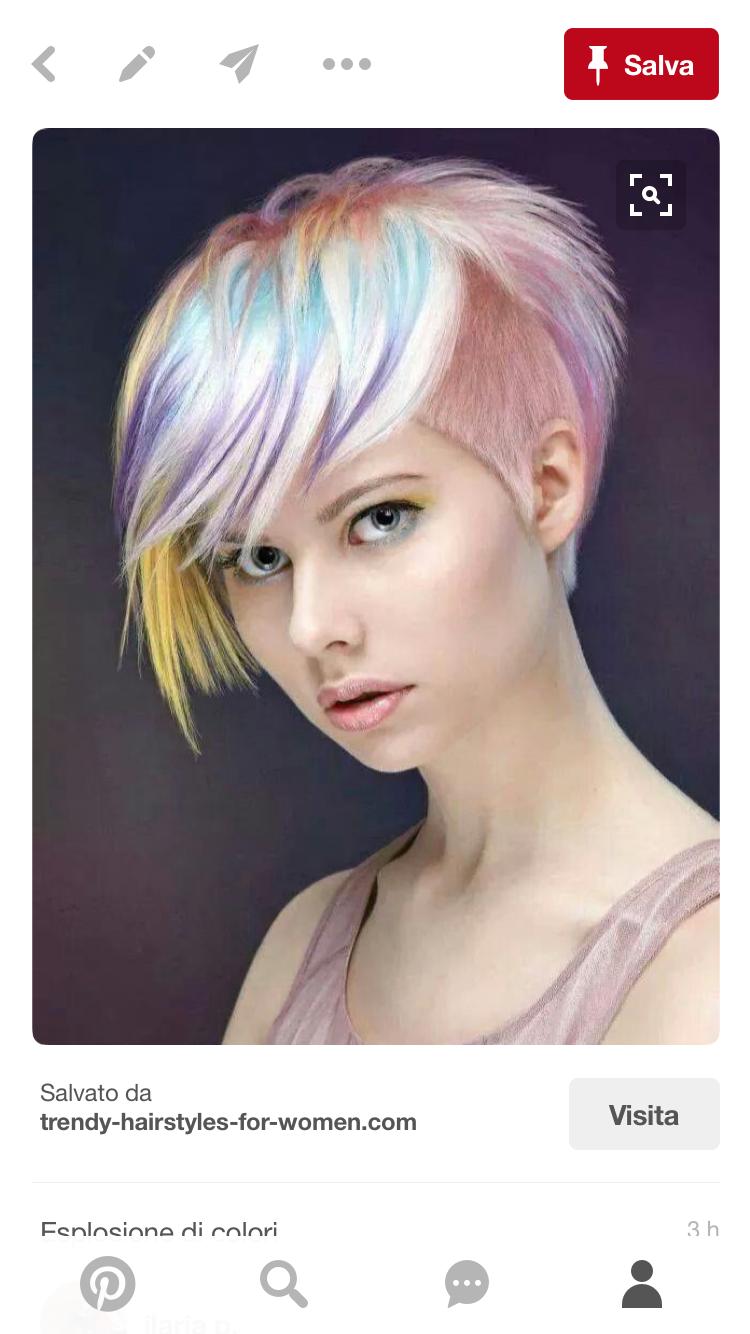 Pin by ilaria p on capelli coloratissimi pinterest