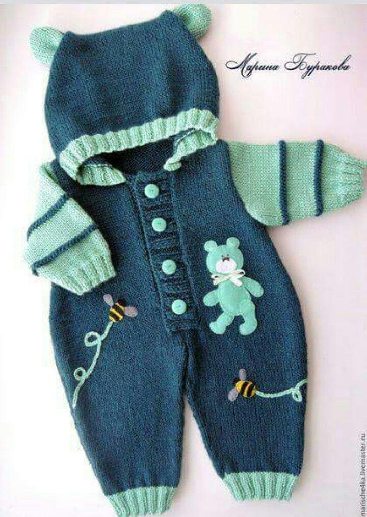 Pin De Anita Quintanilla En Knitting Crochet Kids çocuklar Için örgüler Handmade Ropa Tejida Para Bebe Sueter Para Bebe Tejido Sueter Para Bebe