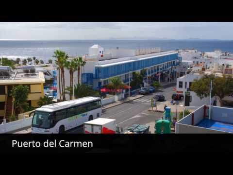 Places to see in ( Puerto del Carmen - Spain ) - YouTube