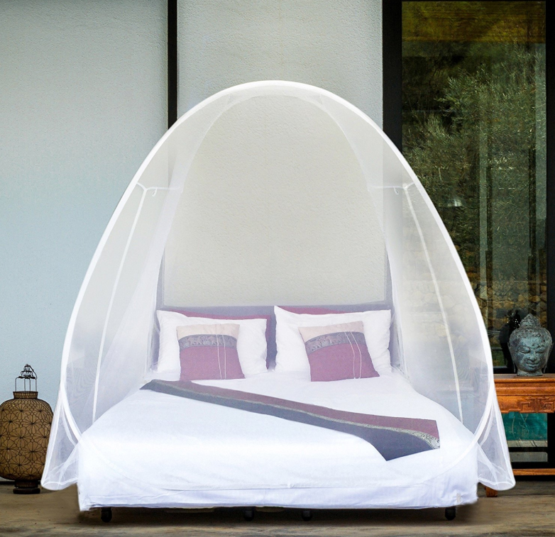 POP UP MOSQUITO NET Tent Extra Large for Twin to King Size