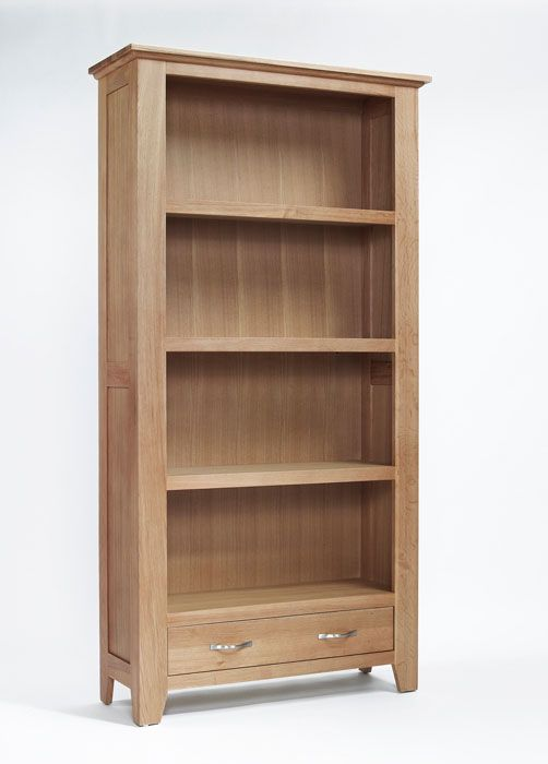 Book lovers will adore our solid oak bookcase with three capacious ...