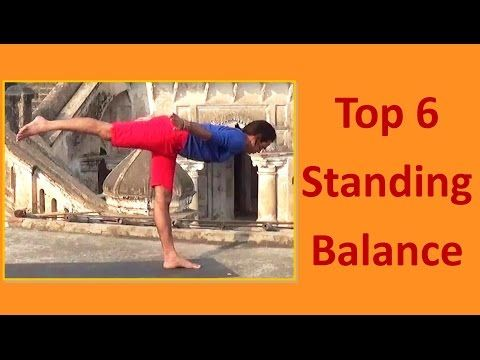 top 6 standing balancing poses  yoga for beginners