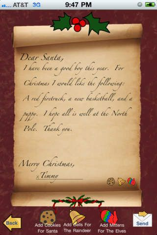 21 ways to keep santa real for your kids pinterest santa real download the letters to santa app 21 ways to keep santa real for your kids spiritdancerdesigns Gallery