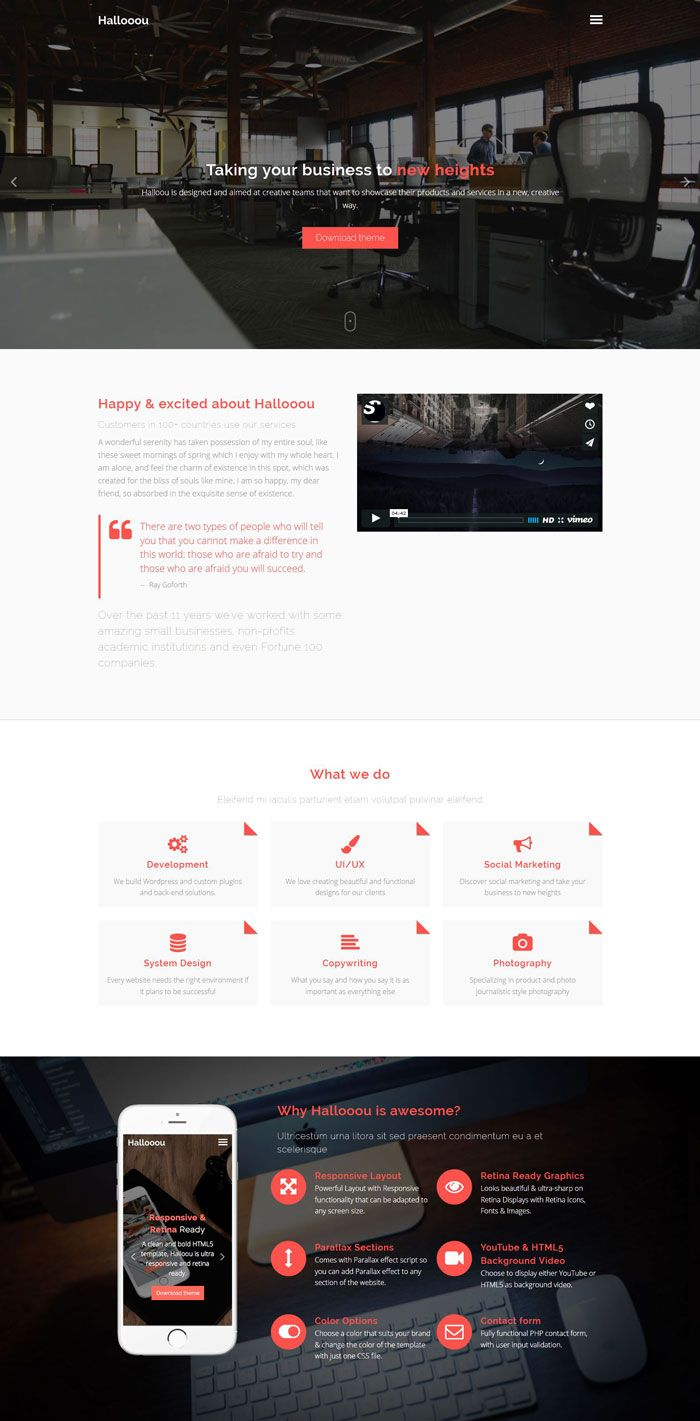 45 Free Bootstrap HTML5 Responsive Templates Templates
