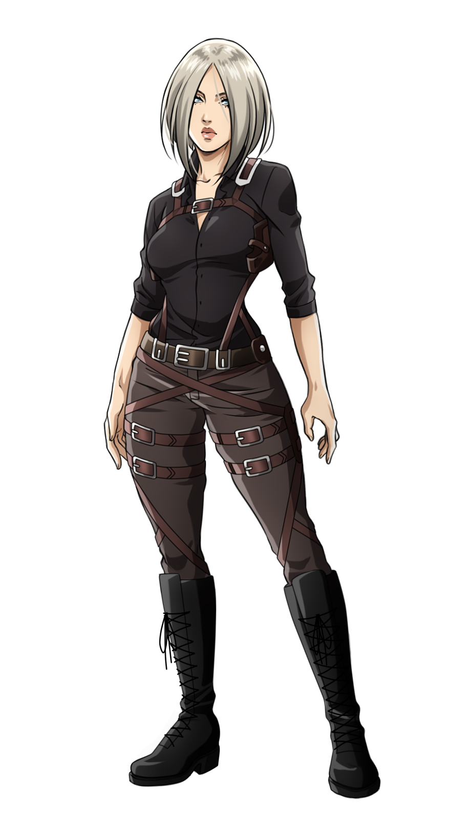 And this lovely badass Mikasa in back 😍 Tytani atakują