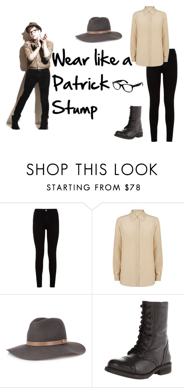 """""""Wear like a Patrick Stump #1"""" by kristin-k1234 on Polyvore featuring 7 For All Mankind, MaxMara, rag & bone, Steve Madden and Ray-Ban"""