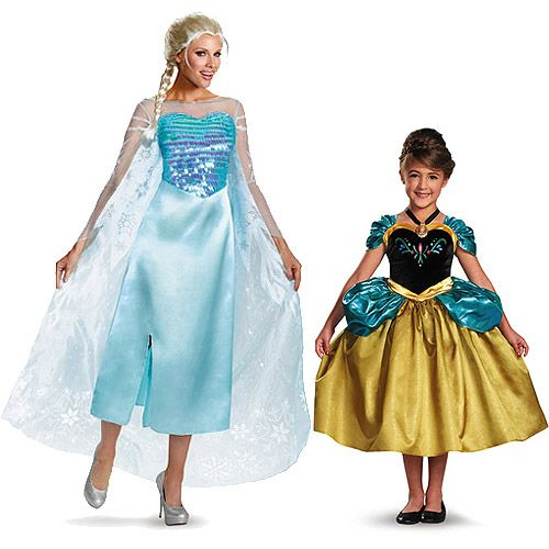 Frozen My Mommy and Me Halloween Costume Value Bundle Shays - mom halloween costume ideas