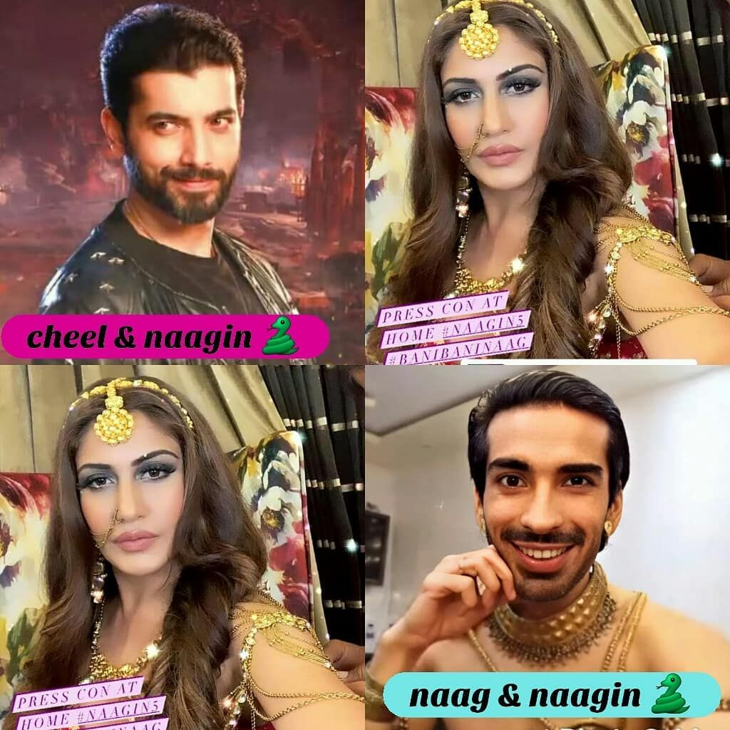 2 488 Likes 361 Comments Naagin Naagin5 On Instagram Veerbani Or Jaybani Comment Fast Naag In 2020 Sharad Malhotra Mohit Sehgal Surbhi Chandna
