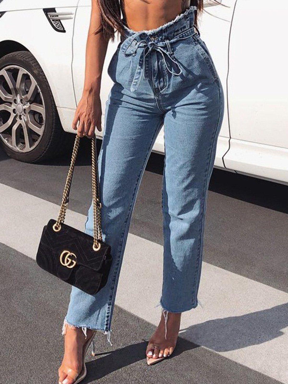 a3101f90cb8 Jeans  Denim  HighWaisted  Waist