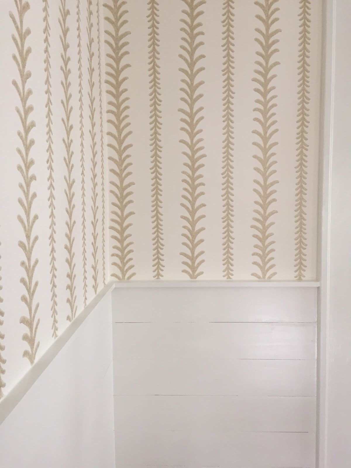 Thibaut wallpaper. design indulgence: BEFORE AND AFTER | If these ...