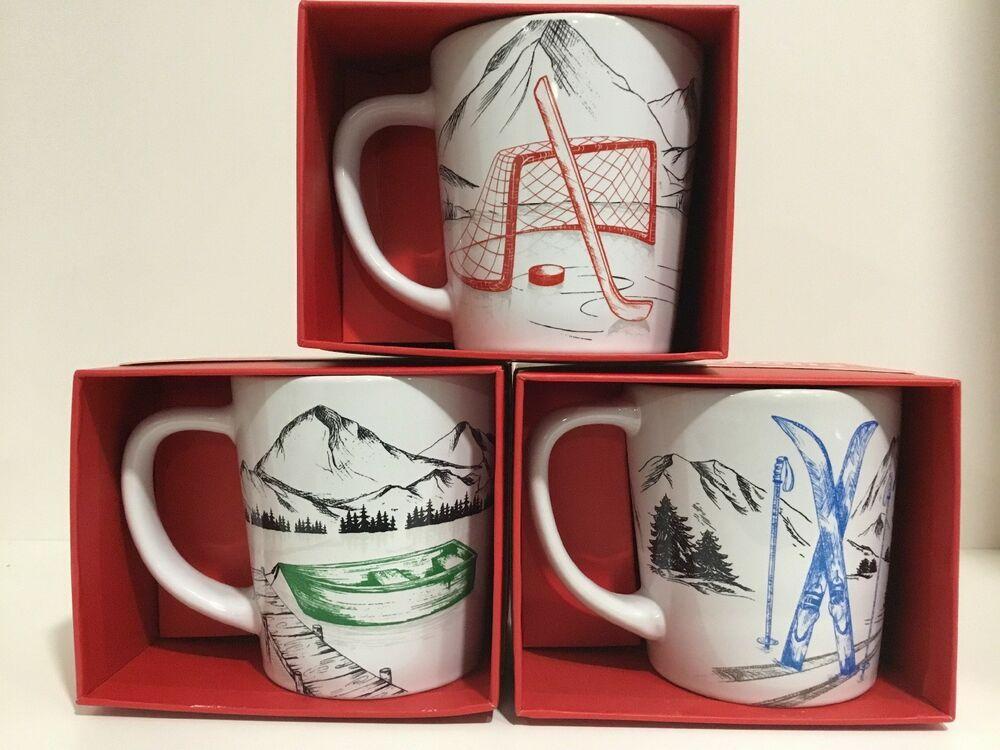 Tim Hortons Skiing Coffee Mug Limited Edition 2018