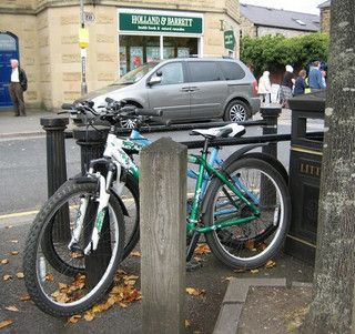 Bike Parking In Bakewell Bike Parking Bike Storage Bike