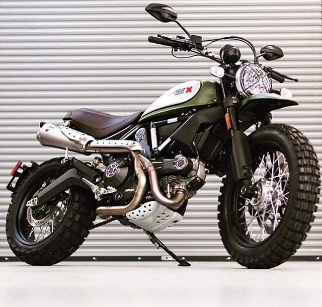Ducati Scrambler Tire Options