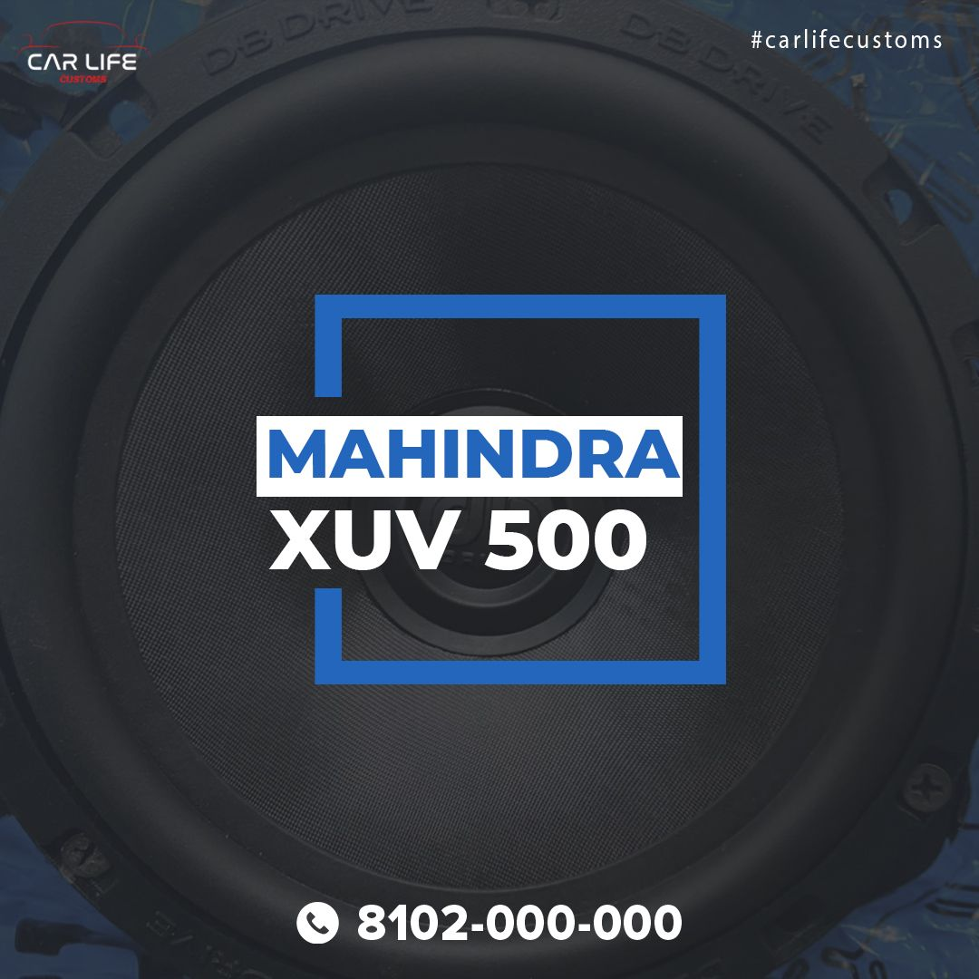 Mahindra Xuv 500 Audio System Upgrade Car Life Customs Chandigarh Video In 2021 Audio System Db Drive Rockford