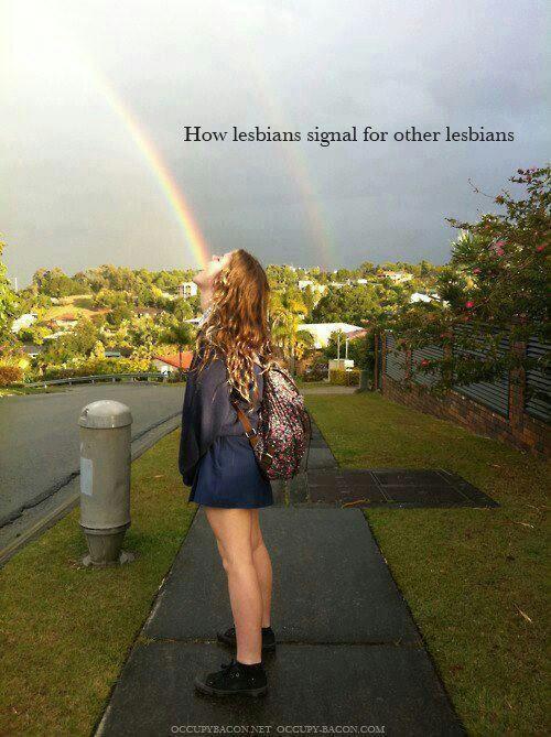 Lesbian!   art   Pinterest   Niñas, Rosa y Arco iris