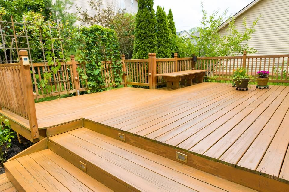 How To Get Rid Of Green On Wood Deck