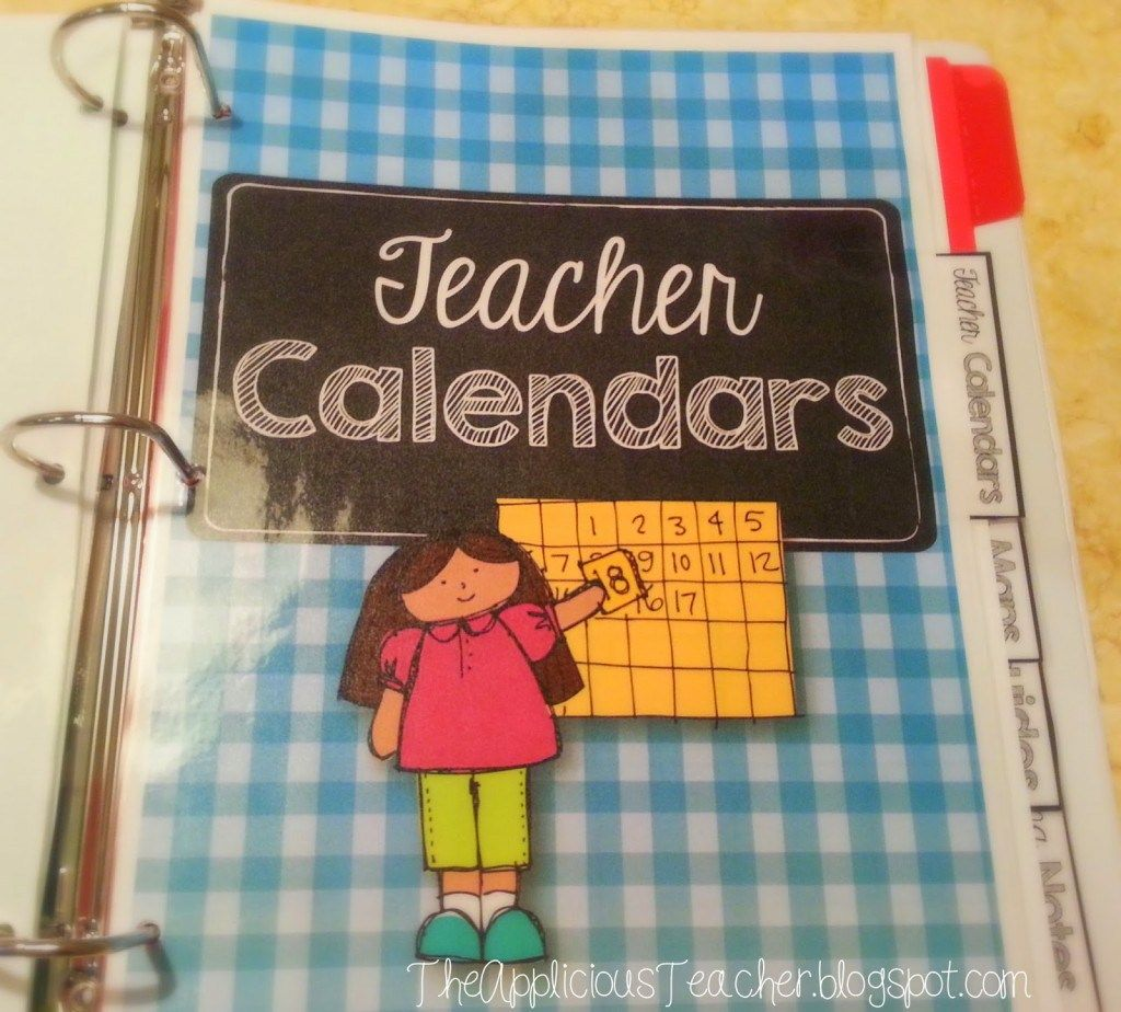 Teacher Binder: What You Need To Keep In Your Binder To