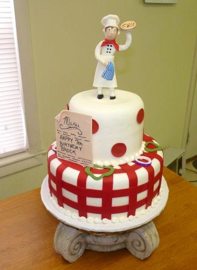 Pizza Chef Birthday Cake Fun Funky Amp Creative Cakes