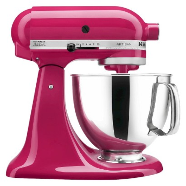 I'm learning all about KitchenAid Artisan 5 Qt Stand Mixer- Cranberry KSM150 at @Influenster!