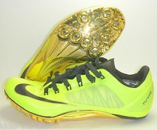 fca22cd7276 NEW NIKE ZOOM SUPERFLY R4 SPRINT TRACK SHOES SPIKES SZ 9.5 YELLOW GOLD BLACK  11