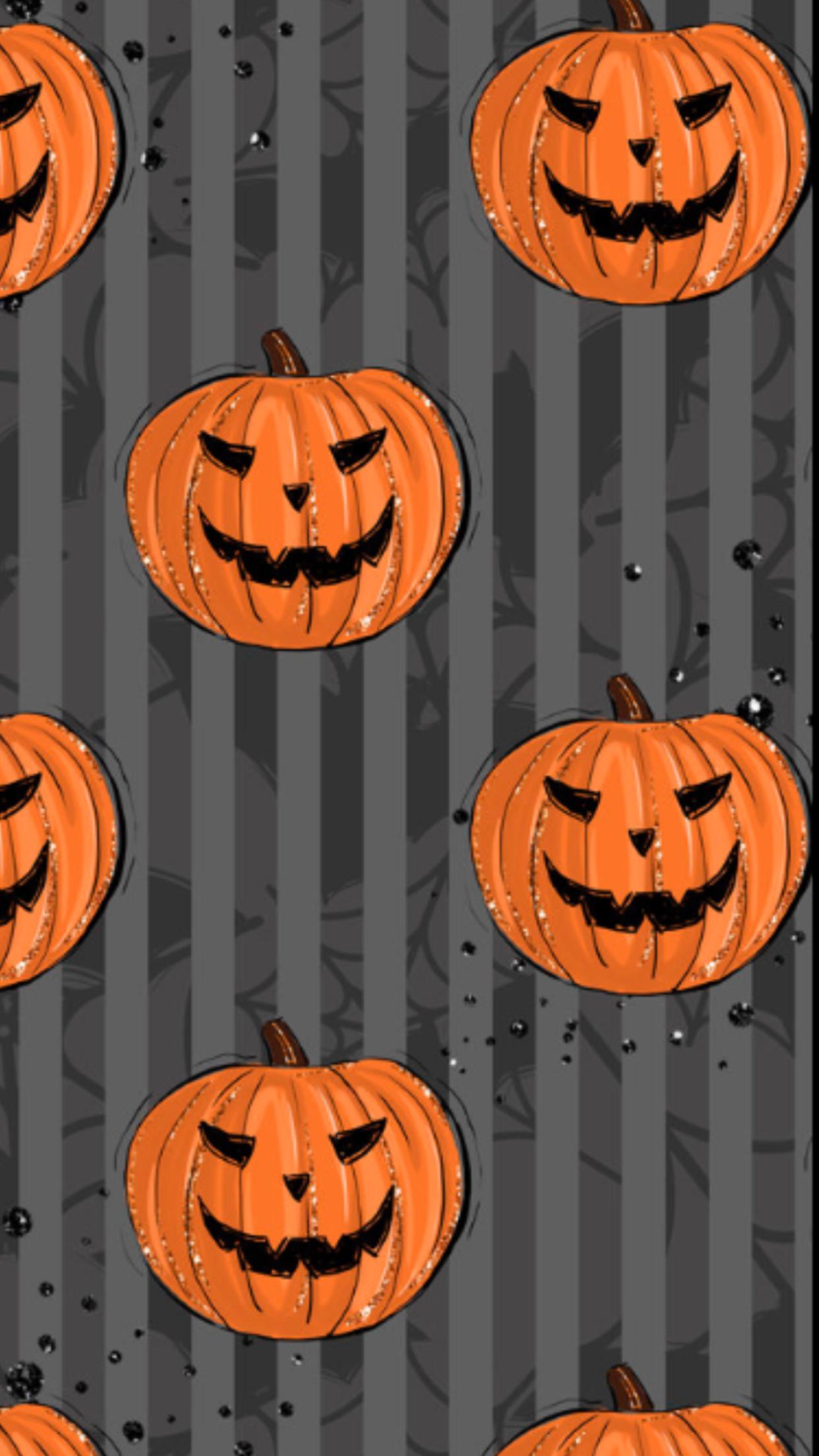 Jack O Lanterns Jack O Lantern Winter Wallpaper Halloween Wallpaper