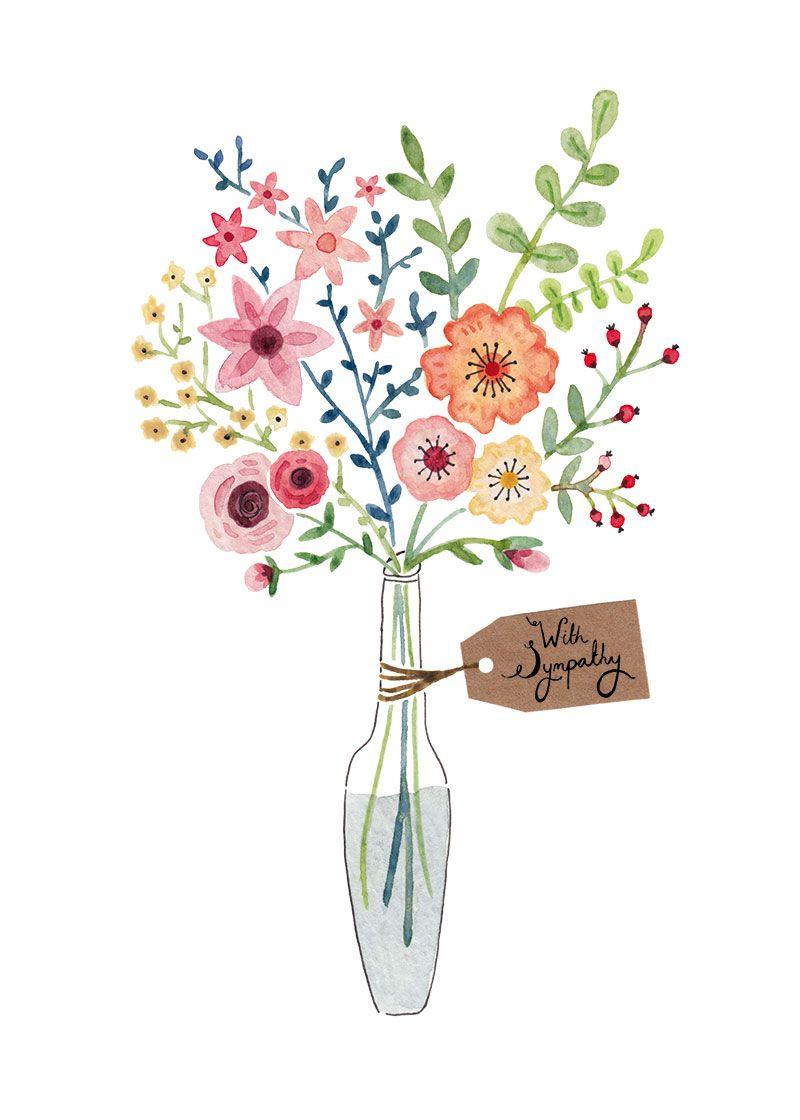 Greeting Cards Felicity French Illustration Dessin De Fleur