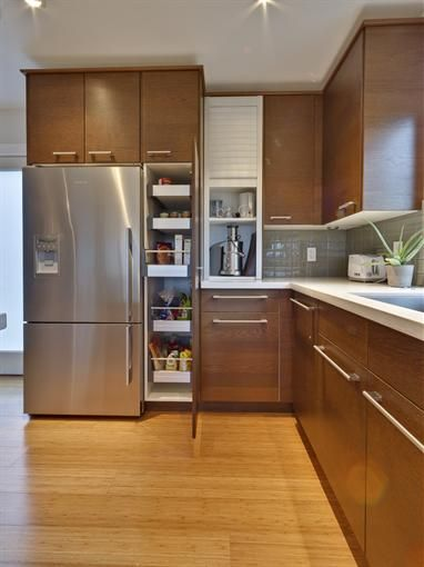 Wood And White Best Kitchen Under $ 40,000 - New