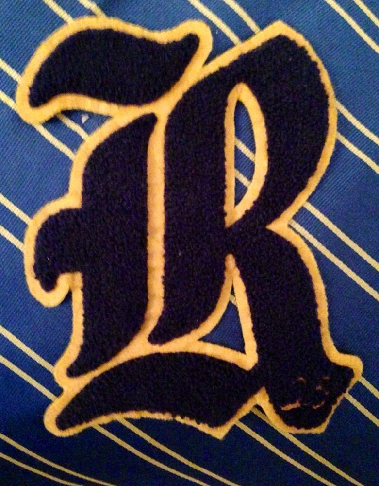 extremely rare ralph lauren rugby varsity letter quotgothic r With gothic letter patches