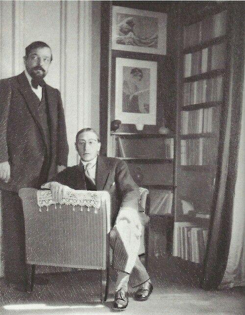 Claude Debussy and Igor Stravinsky