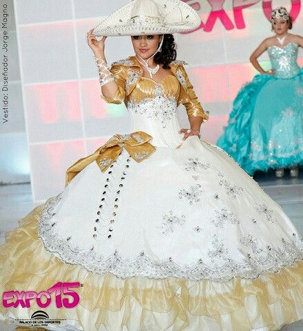 de1578ea76f Charro quinceanera dress