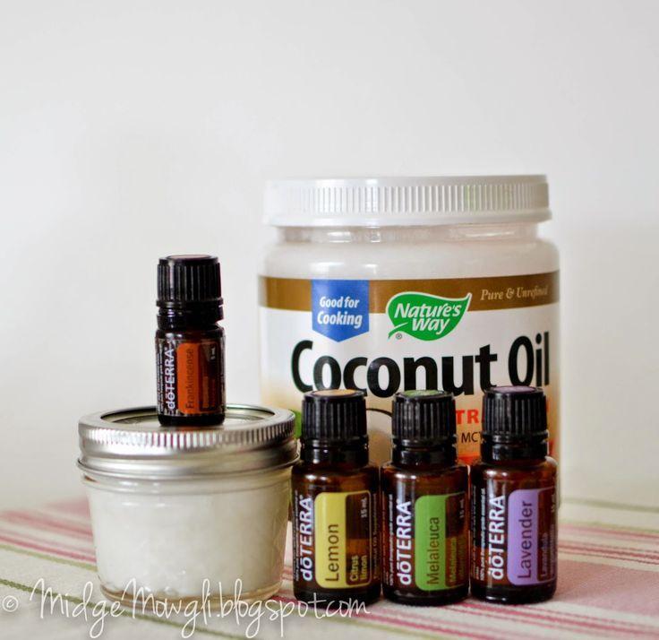 Easy DIY moisturizer for acne, dry, oily skin. Age spots