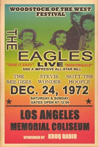 The Eagles - The Bee Gees, Stevie Wonder, Mott the Hoople