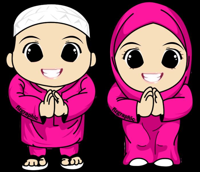 cartoon+raya+2012+doodle+pink.png (700×600) Kartun, Anak