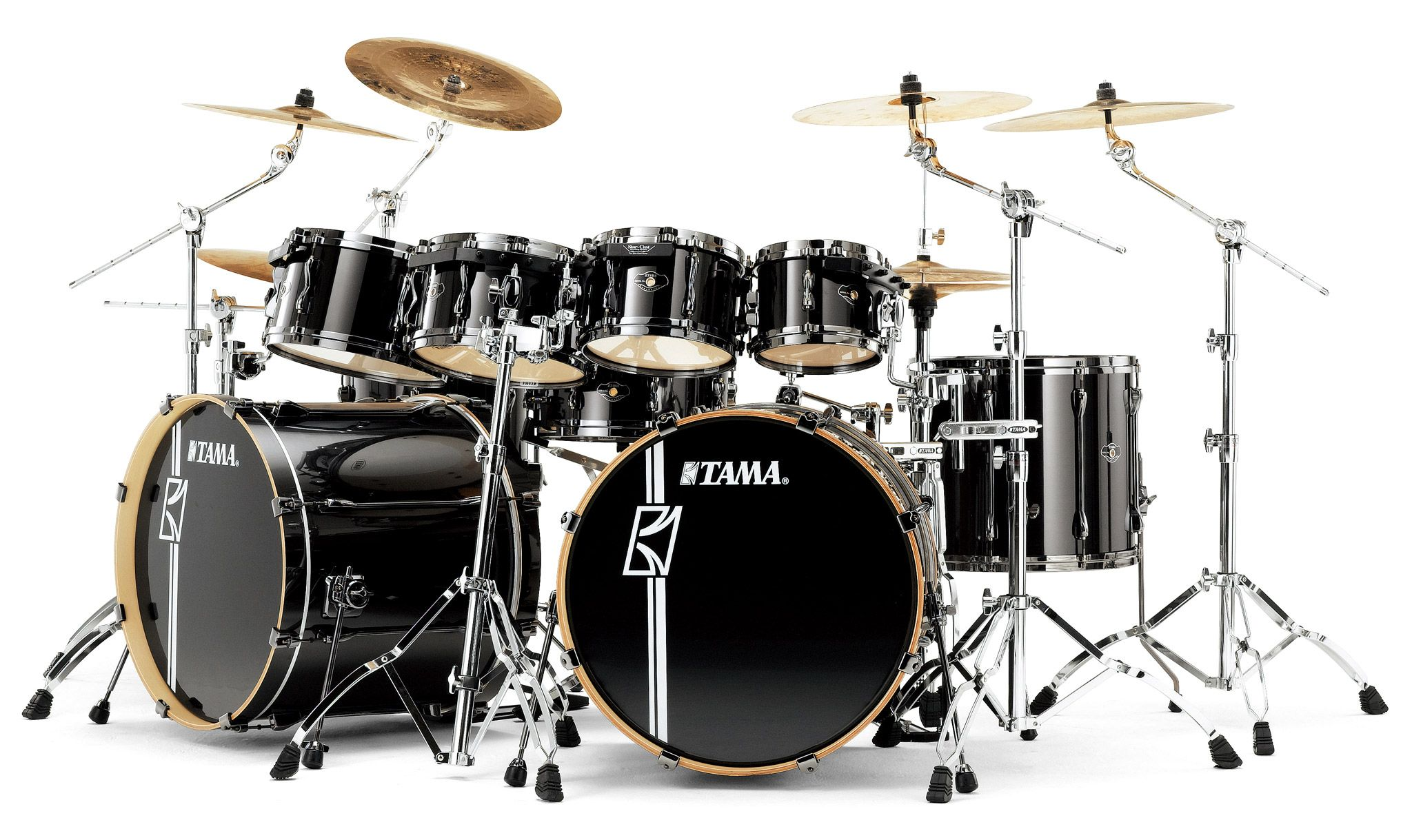 Tama Superstar Black Bass DrumDouble
