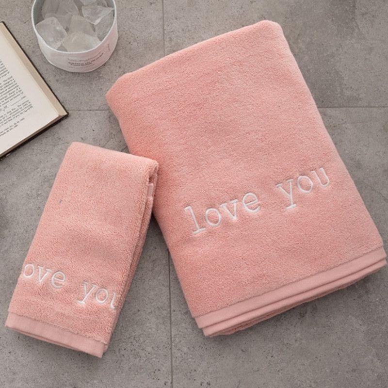 Blue Pink Cotton Face Towel Bath Towel Pool Towels Bathrobe Saunawrap Suitable For Home Bathroom Decor Beauty Pool Towels Blue Hand Towels Face Towel