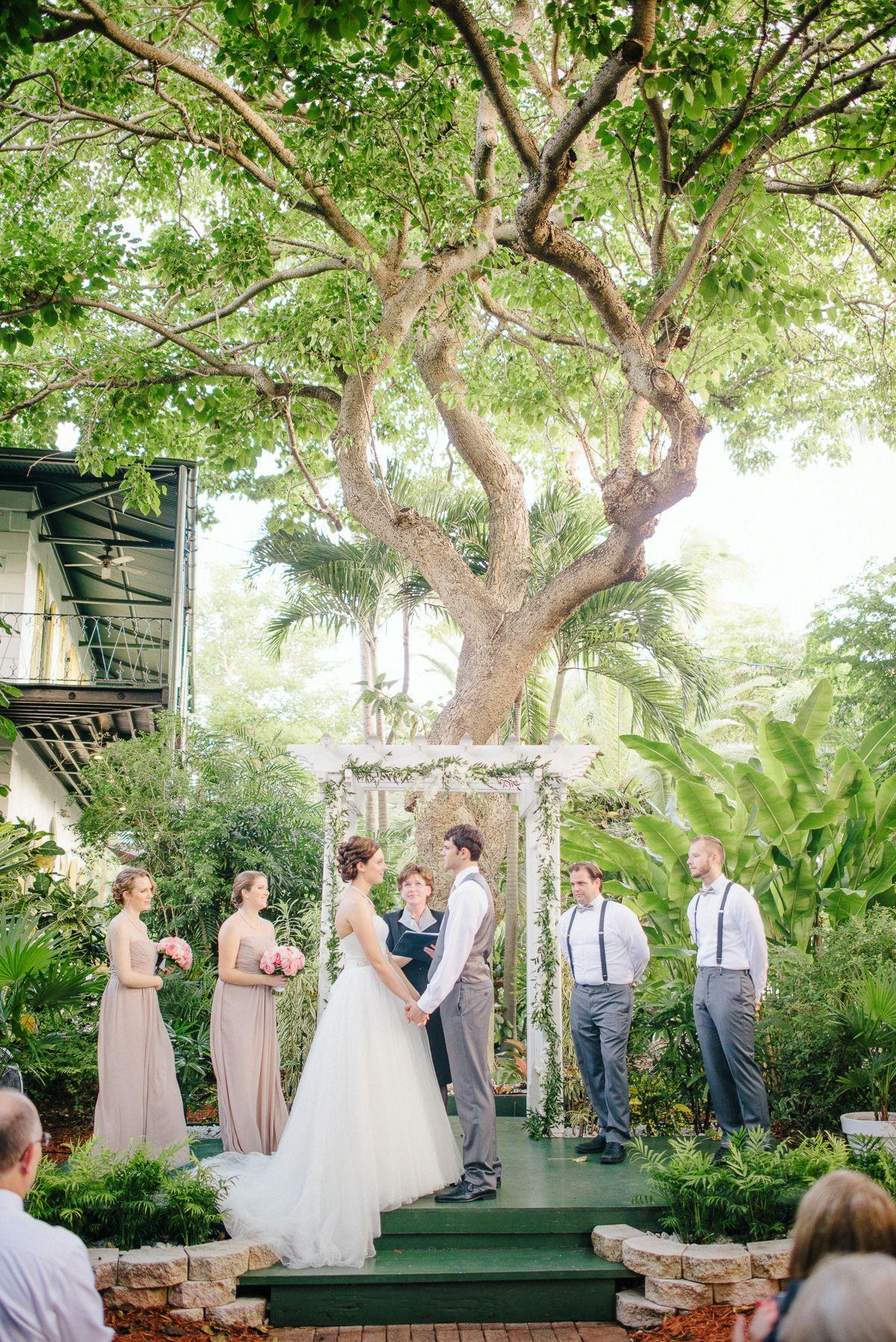 Small, Sweet Destination Wedding: Whitney & Aaron in Key ...