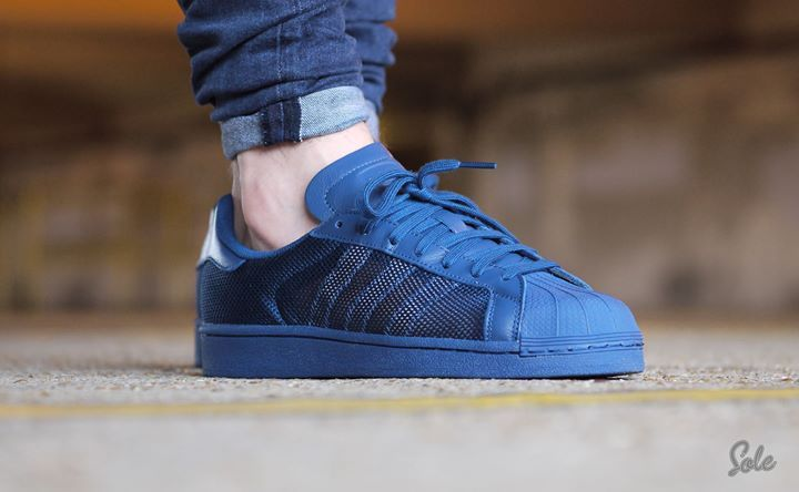 Another great on foot shot of the Adidas Superstar Triple