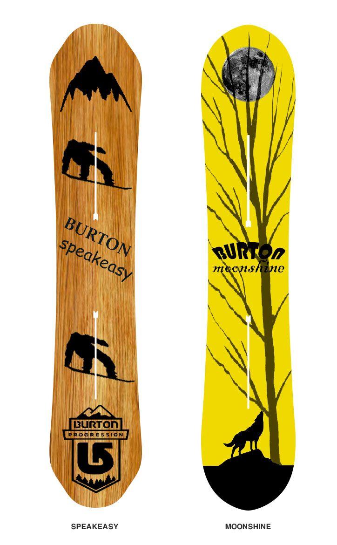 """b98a303e9fa4 """"speakeasy  amp  moonshine"""" Burton Snowboards"""