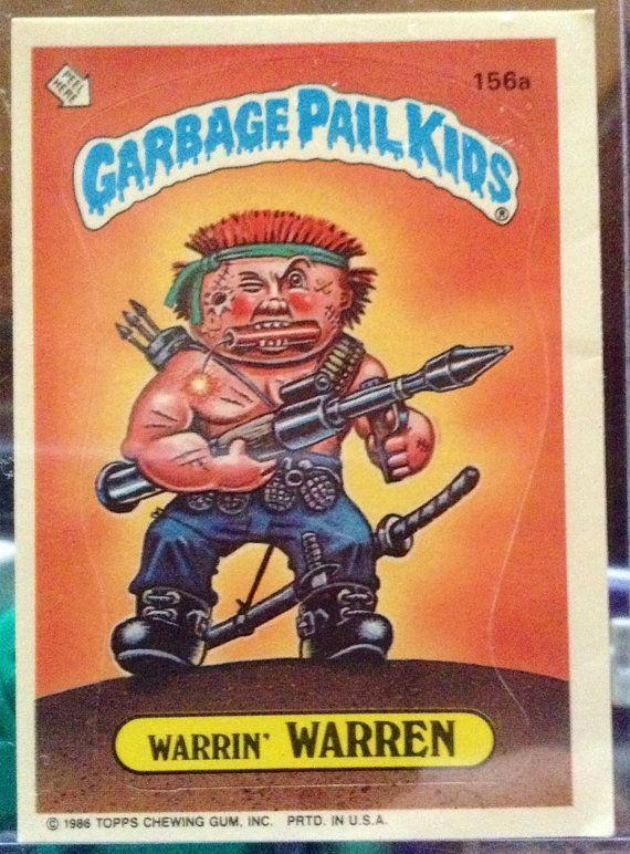 1986 Topps Garbage Pail Kids Trading Card 156a Etsy Garbage Pail Kids Cards Garbage Pail Kids Kids Cards