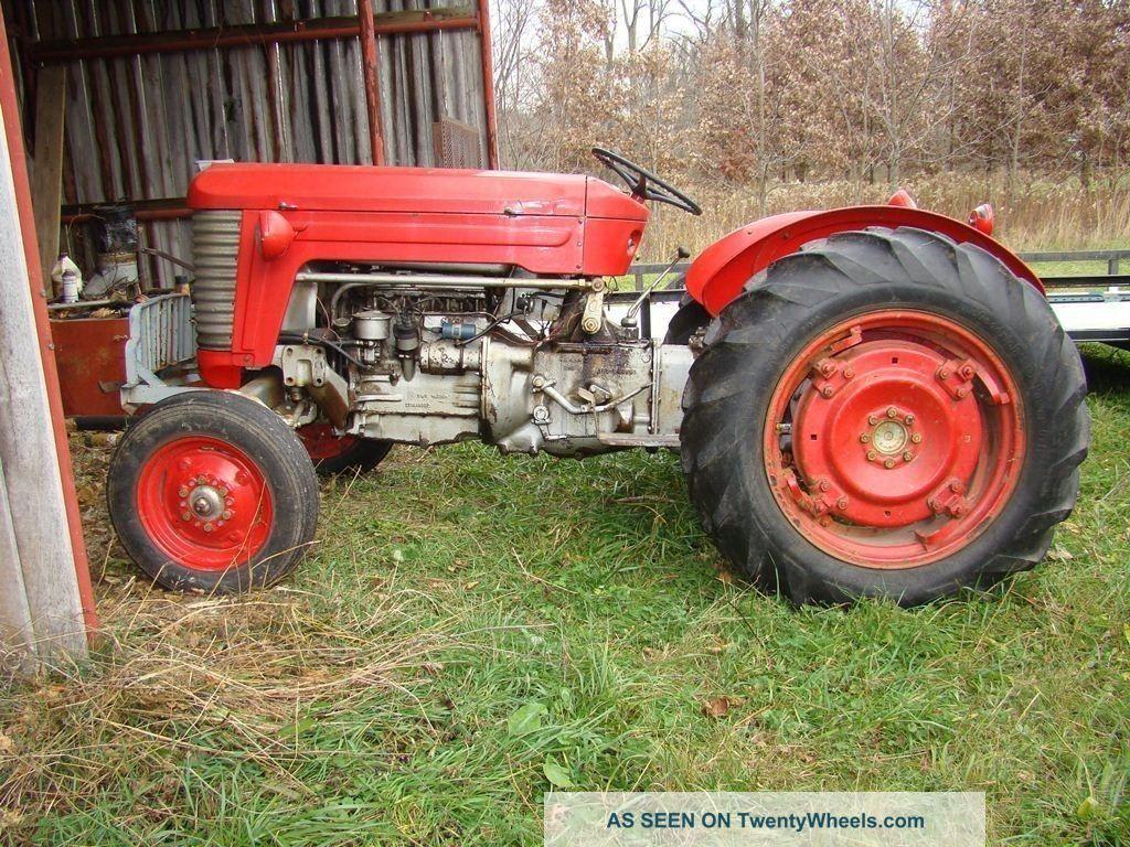 Massey Ferguson Mf 50 : Vintage massey harris ferguson mh tractor