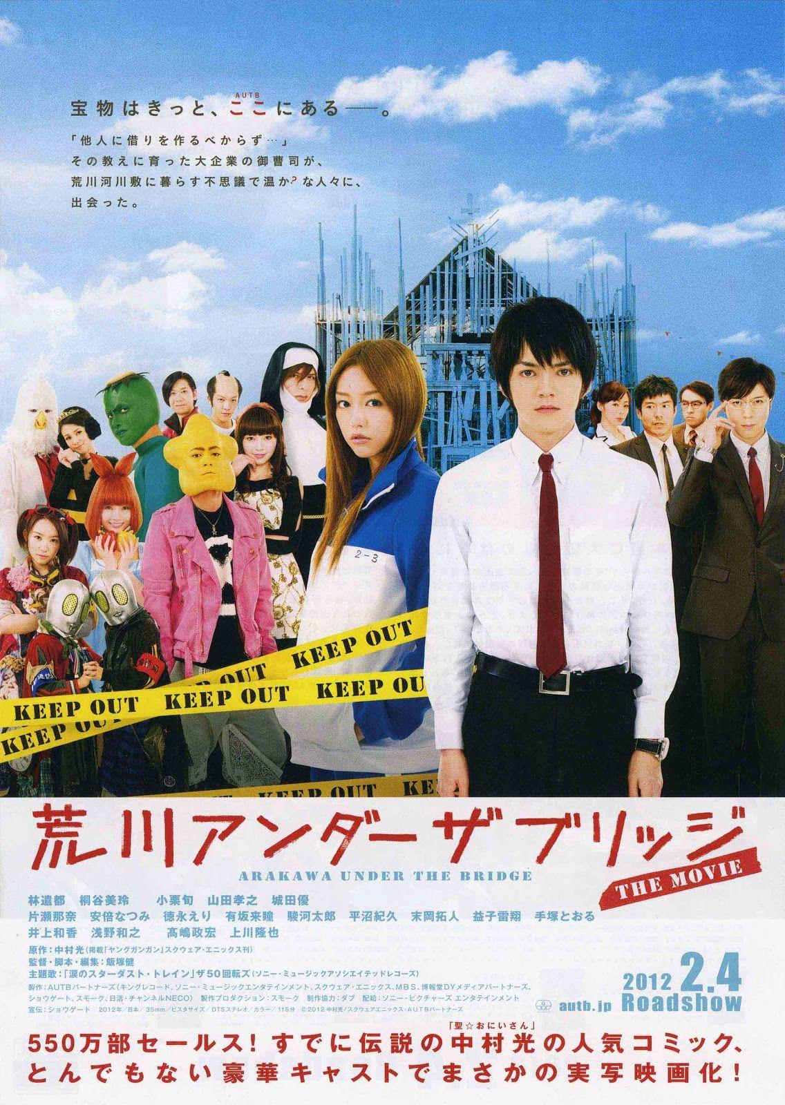 Arakawa Under The Bridge The Movie Subtitle Indonesia
