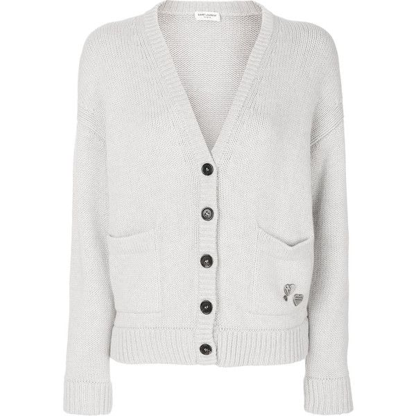 Saint Laurent cardigan with pins Buy Cheap Nicekicks mv5R7xDbYT