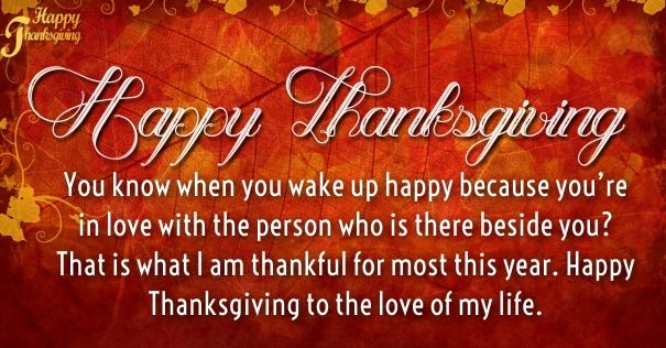 Happy Thanksgiving I Love You Quotes