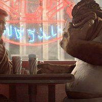 Jedi Obi Wan Kenobi Actor Ewan Mcgregor Asks Old Friend And Diner Owner Dexter Jettster For Help In Star Wars Episode Ii Star Wars Quotes Star Wars Episode 2