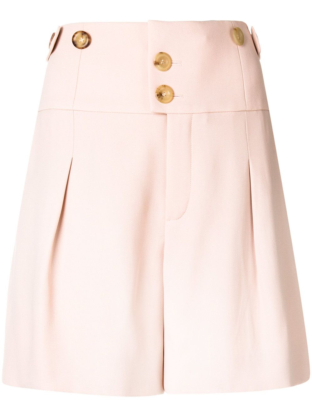 high-waisted shorts - Pink & Purple Chloé