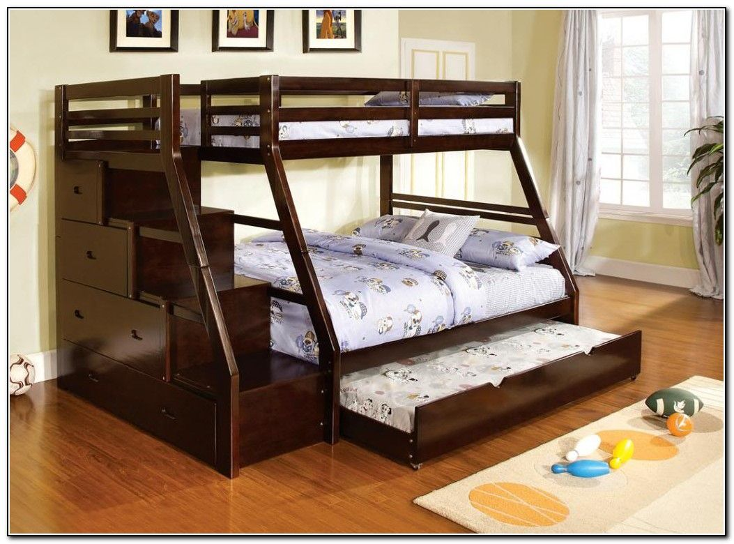 Bunk Beds Twin Over Full With Trundle House Ideas