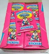 Series 1 Unopened Packs 1985 Today These Sell For About 75 To 100 Each Quite A Difference From 25 In 1985 Garbage Pail Kids Funny Kids Kids